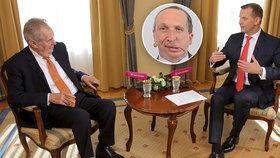 "Zeman šil do ""mrtvol"" a hájil Klause ml.: ""Úspěšný politik, závist a chyba ODS"""