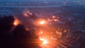 Ničivá exploze v továrně zabila i děti ze sousední školky. Obětí je 44, zraněných desítky