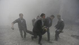 Ruské rakety dopadly na trh se zeleninou. V Sýrii zemřelo nejméně 43 lidí