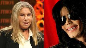 Děti, které Jackson zneužíval, to nezabilo, šokovala veřejnost Streisandová svým prohlášením