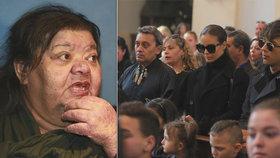 Bagárovou na pohřbu Věry Bílé (†64) nikdo nečekal! Proč vzbudila takový rozruch?!