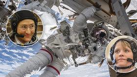 NASA zrušila první čistě ženský výstup do kosmu: Dámy nemají co na sebe