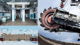 Mrazivě strašidelné: V opuštěném hornickém městě se zastavil čas! Dodnes na něj shlíží Lenin