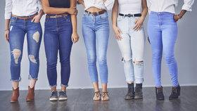 Vyznáte se v džínách? Který střih bude slušet vaší postavě?