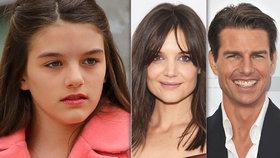 Tom Cruise a Katie Holmesová mohou být hrdí! Suri roste do krásy