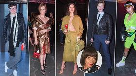 Módní téma týdne: Exhibice na Mercedes-Benz Prague Fashion Week? Panoptikum bez hranic!