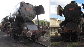 Na Hodonínsku vykolejila unikátní lokomotiva: Strojvedoucí je zraněn!