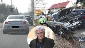 Karel Heřmánek po vážné nehodě: Znovu sedl za volant a divadlo nezrušil!