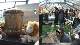 Pohřeb Michala (†33), kterého rozsápal lev: Drsná slova zdrceného bratra!