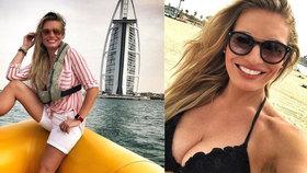 Lucka Borhyová se vystavuje v Dubaji: Je v tom něco víc...