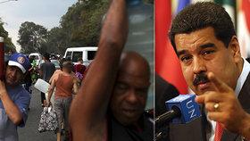 """Venezuela kvůli Madurovi trpí: """"Chce z nás udělat další Sýrii"""". USA slibují další tlak"""