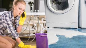 Hasiči varují: Pračka pere a vy nejste doma? Tohle vám hrozí!