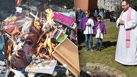 Kněží pálili před dětmi knihy Harry Potter i deštníček Hello Kitty. Co na to Češi?