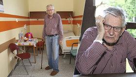 Všichni se na mě vykašlali, zoufá si osamělý Skopeček (93)! Telefon vyhodil do koše