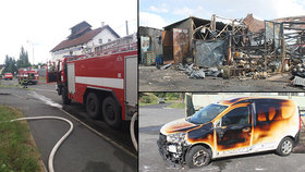 Výbuch plynových bomb v Plané zabil zaměstnance: Ve skladu prý docházelo k nelegálním čachrům