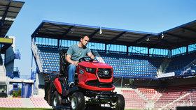Velkého putování trávoborců: Přijďte si vyzkoušet české zahradní traktory