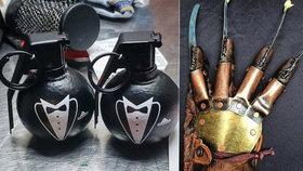 Co odhalily letištní kontroly: Cestující chtěli pronést minividle i parfém v granátu