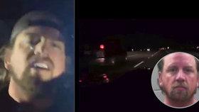 Muž se v živém vysílání proháněl po dálnici přes 300 km/h: Přišla si na něj policie