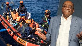 """""""Migrace je zdravá. Není to nemoc,"""" říká miliardář z Afriky, žijící v Monaku"""