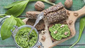 Recepty z medvědího česneku: Je levný a skvělý na hubnutí!