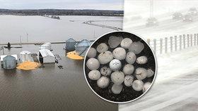 Meteorologové varují: Teplé jaro zkazí bombový cyklon. Bouře a déšť udeří v USA