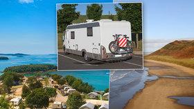 Objevte s karavanem krásy Evropy: 10 nejzajímavějších kempů!