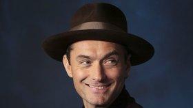 Hollywoodský proutník Jude Law: Bude již pošesté otcem!