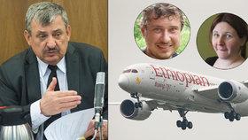 První slova poslance Hrnka, který přišel o rodinu při letecké tragédii: Drsná odpověď na nenávistné vzkazy!