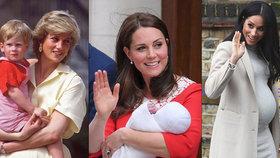 Kde bude Meghan rodit? Postavila si hlavu a odstřihne se od Kate i princezny Diany