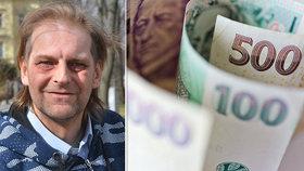 Propuštěný dvojnásobný vrah Ševčík: Žije z 9 korun denně