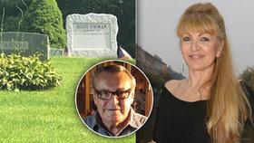 Před rokem zemřel Miloš Forman (†86): Vdova čeká hosty, aby mohla na hrob!