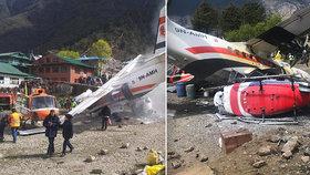 Letadlo z Česka havarovalo u Everestu! Tři mrtví na nejnebezpečnějším letišti světa