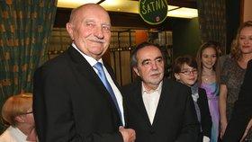 Josef Somr slaví 85! Poněkud rozmrzelá reakce na gratulace