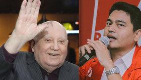 Gorbačov znovu u moci? Kandidátem voleb v Indonésii je jmenovec bývalého sovětského vůdce