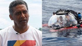 """""""Čas jednat je teď."""" Prezident Seychel vyzval z mořského dna k záchraně oceánů"""