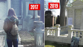 Jméno Stiassni opět září zlatou barvou: Opravili hrobku legendárních průmyslníků