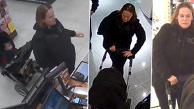 Nakupuje za cizí: Policisté pátrají po mamince, která obráží obchody s odcizenou platební kartou