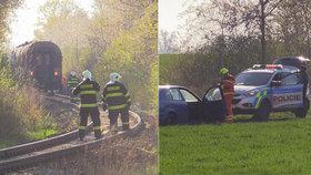 Vlak přejel člověka na trase mezi Prahou a Mělníkem: Provoz musel být přerušen