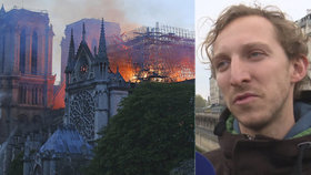"""""""Mši přerušil alarm,"""" popsal Martin evakuaci z Notre-Dame. V chrámu byly i české děti"""