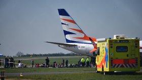 Na pražském letišti se srazila dvě letadla! Několik spojů nabralo zpoždění