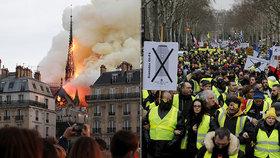 """Miliardy na Notre-Dame rozlítily žluté vesty: """"K bídě jsou oligarchové neteční"""""""