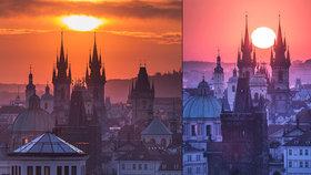 Slunce mezi věžemi Týna! Mystický okamžik v Praze nastává jen dvakrát do roka