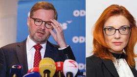 """""""Klausova"""" poslankyně potvrdila konec v klubu ODS. Fiala nechápe, že nezmizí úplně"""