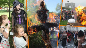 10 tipů, kam na čarodějnice v Praze: Za hudbou, opékáním buřtů i na průvod