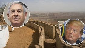 Vděčný Netanjahu má pro Trumpa netradiční dárek. Pojmenuje po něm město i nádraží