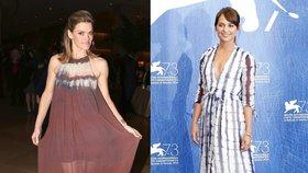 Batikované šaty podle celebrit: Hodí se na večer i do města! Kde je pořídíte?