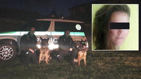 Unesenou a svázanou Zuzanu (43) zachránili policejní psi! Drsně odzbrojili údajného agresora!