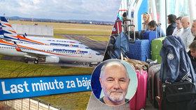 Potíže s dovolenou až pro 100 tisíc Čechů: Méně letů, rušení pobytů, jiné termíny