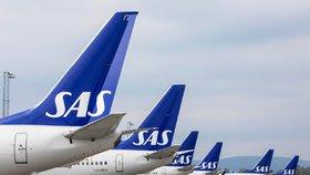 Další cestující nedoletí z Prahy do Skandinávie. Stávka pilotů SAS pokračuje