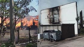 Zoufalí rodiče vyhazovali děti z oken, líčí Michaela: Požár ubytovny má minimálně dvě oběti